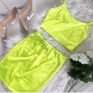 iris Skirts - Green set 💚